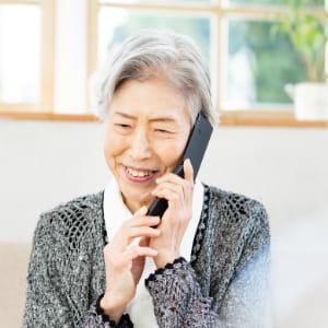 フィーチャーフォンでの通話 イメージ