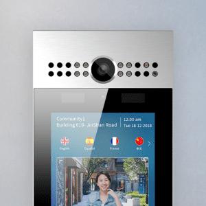 カメラ付きインターフォン機能 イメージ